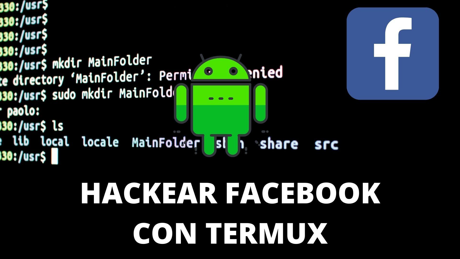 comandos para hackear facebook con termux