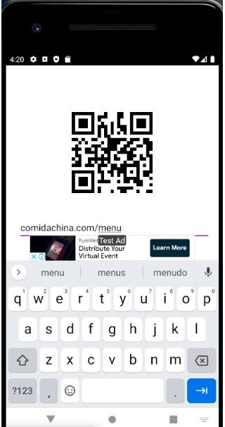 código qr generado