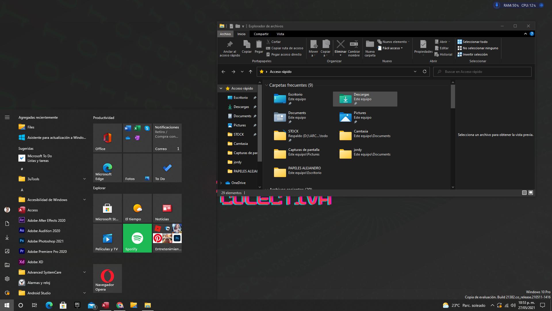 nuevos iconos para windows 10
